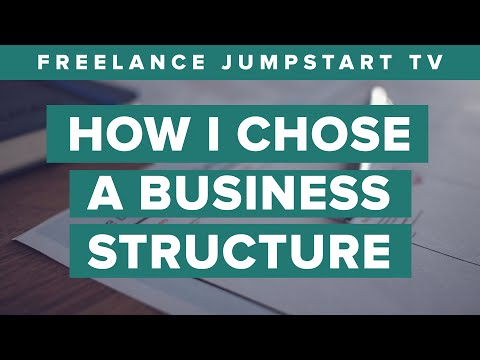 How I Chose a Legal Business Structure