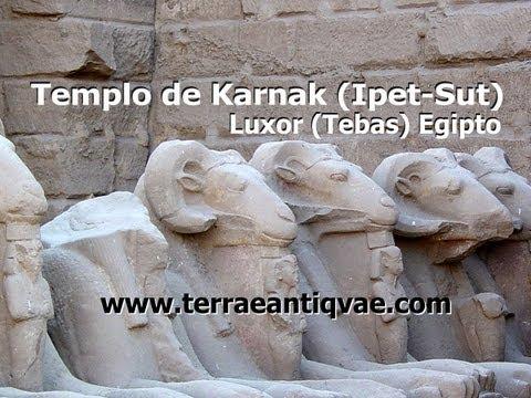 Templo de Karnak (Ipet-Sut) Luxor, Egipto