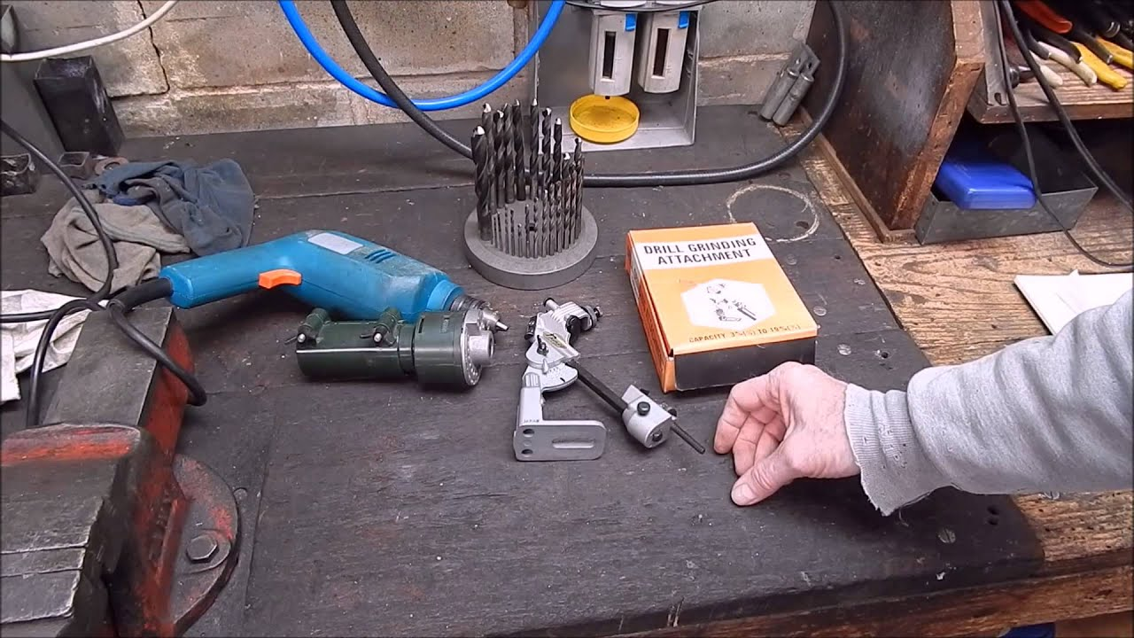 How To Grind Back Relief On A Drill Bit Youtube