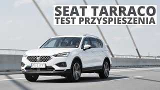 Seat Tarraco 2.0 EcoTSI 190 KM (AT) - acceleration 0-100 km/h