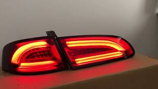 Feux SEAT Ibiza 6L 02-08 - LTI+LED - Fumé rouge