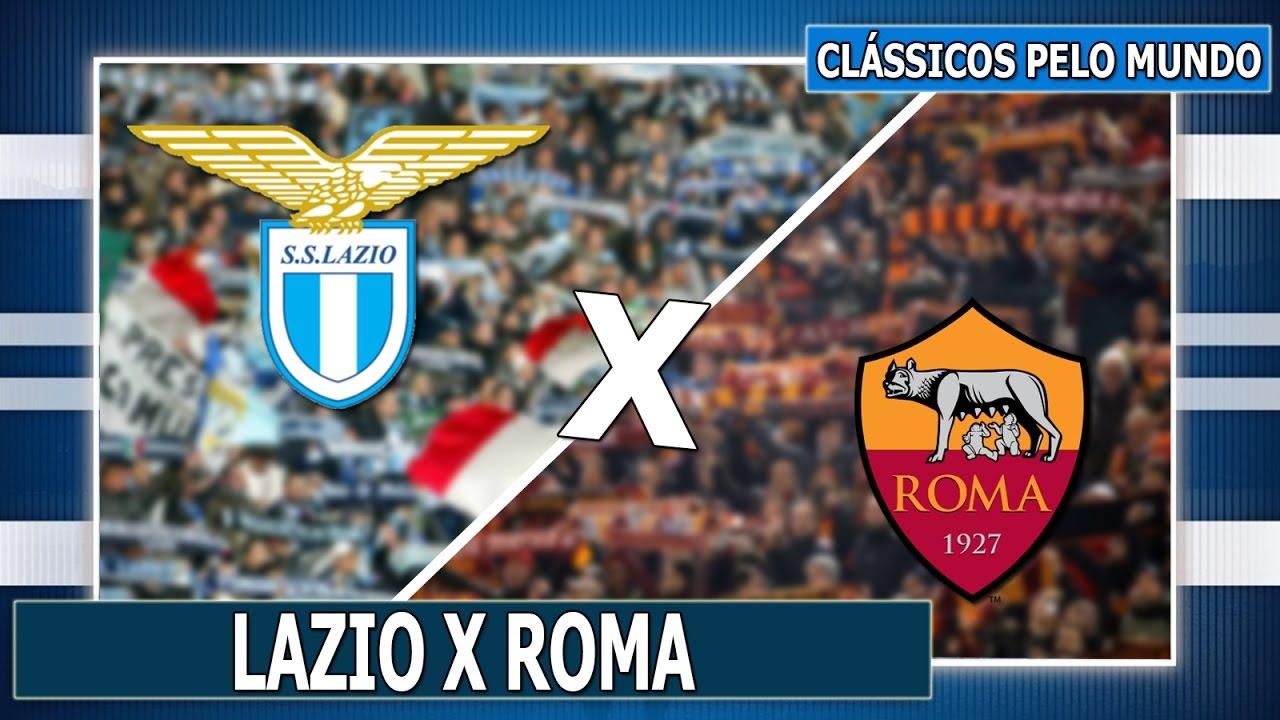 CLÁSSICOS PELO MUNDO #10: LAZIO X ROMA - YouTube