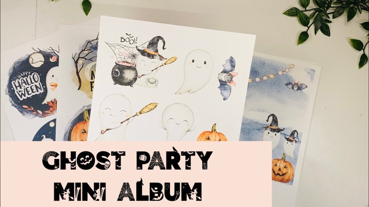 Download Freaky Friday Night Crafting Series: Ghost Party Mini Album TUTORIAL