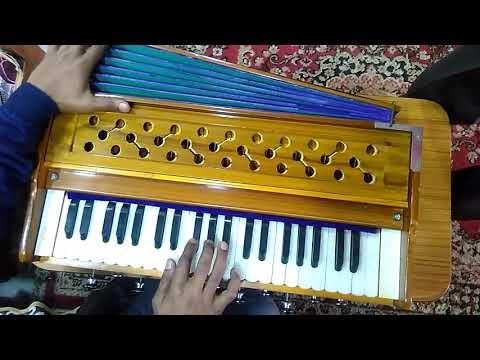 Gadwali song Mera daandi kanthiyon ka muluk jaiyee harmonium tutorial-Narendra Singh Negi -