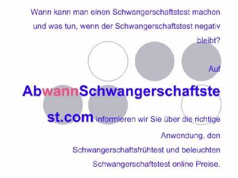 ab wann schwangerschaftstest youtube. Black Bedroom Furniture Sets. Home Design Ideas