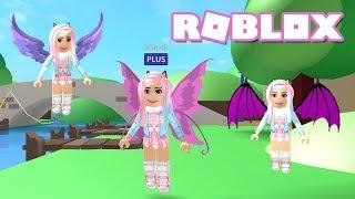 NEW WINGS!! Roblox: MeepCity