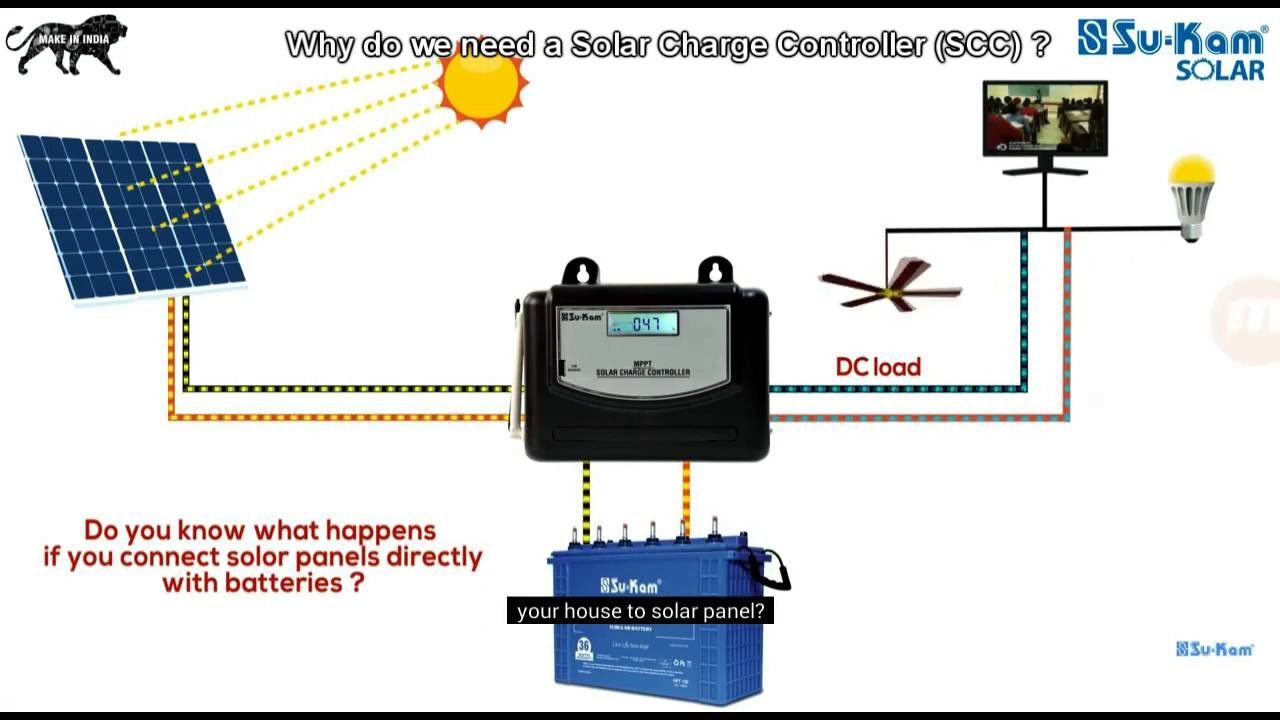 Why Do We Need A Solar Charge Controller Youtube