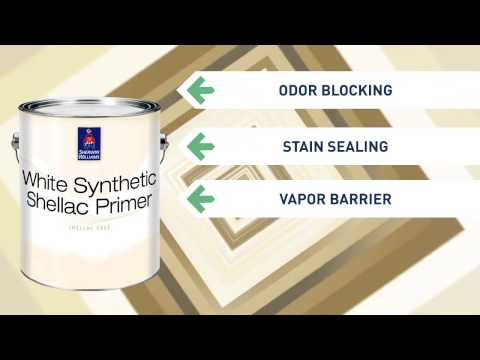 White Synthetic Shellac Primer - Sherwin-Williams