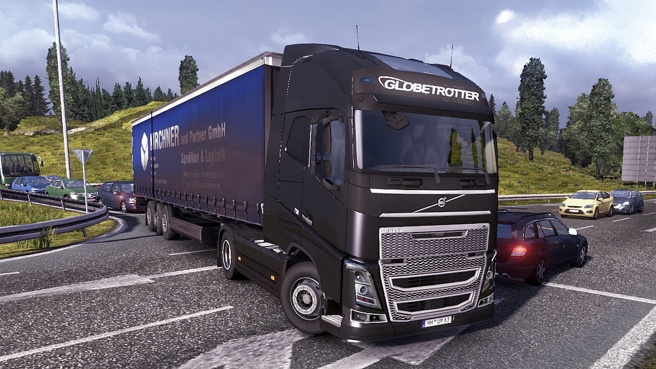 Euro Truck Simulator 2 Patch 1.7.0 - The New Volvo FH16 ...