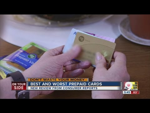 Consumer Reports: Best & worst prepaid debit cards
