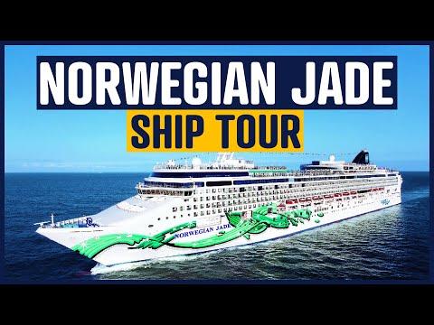 Norwegian Jade tour