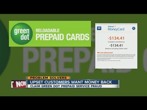 Green dot prepaid card problems upsetting customers