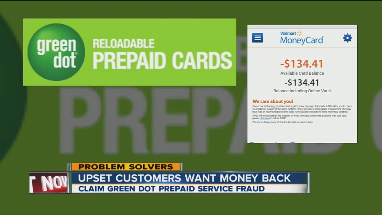 green dot prepaid card problems upsetting customers youtube - Green Dot Visa Debit Card