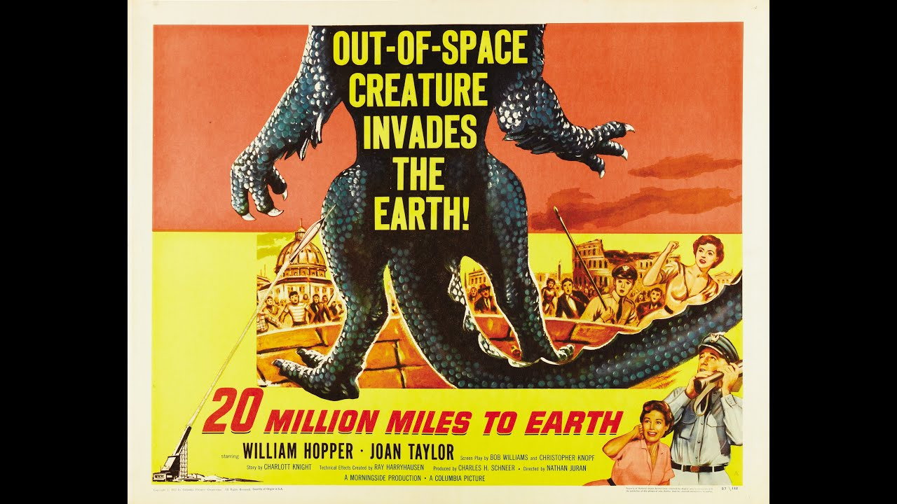Download 31 Days of Horror   Day 7: 20 Million Miles to Earth (1957)   Sony