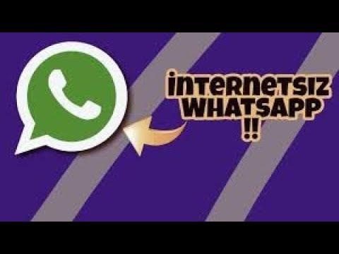 WhatsApp İnternet Olmadan Nasıl Kullanılır ? ( İnternetsiz Whatsapp !! ) 2018