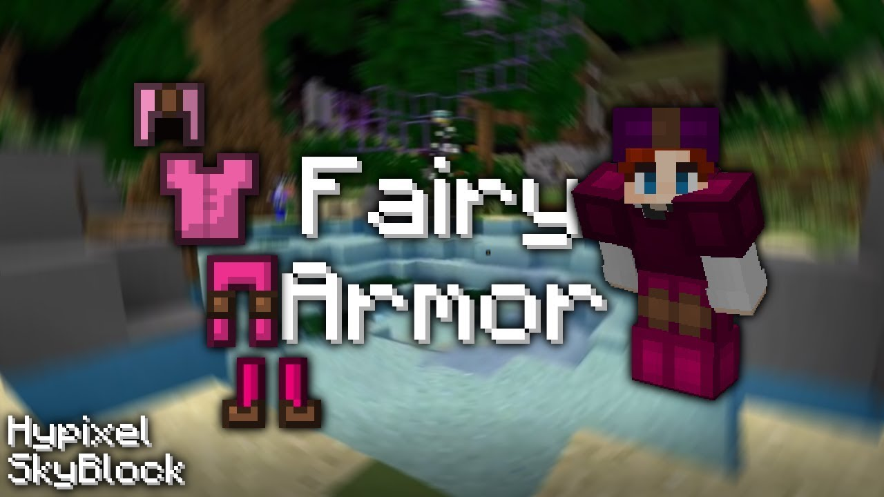 Hypixel SkyBlock getting Fairy Armor guide (rare armor)