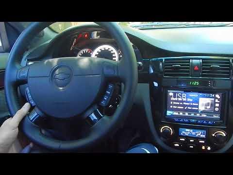 Управление магнитолой кнопками на руле Lacetti