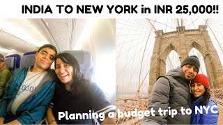 Planning trip to NEW YORK City on a Budget 2020 | Flights, Accommodation, Sight Seeing | Shachi Mall