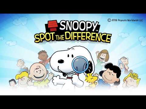 Snoopy Spot the Difference 1