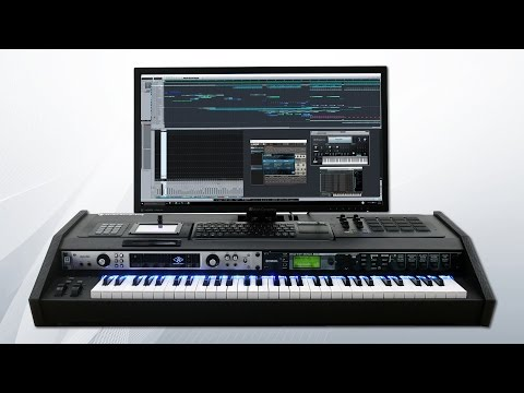Kami music keyboard production station (Overview) by Music Computing