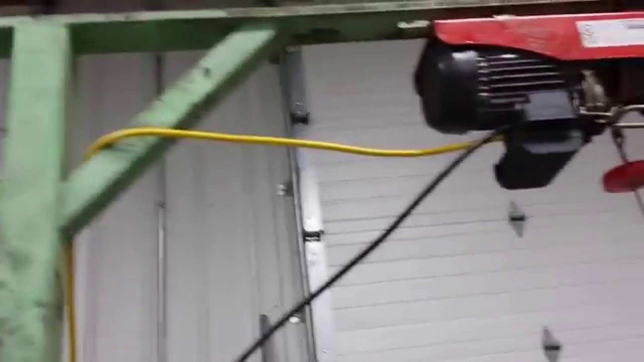 Home Made Hoist Skinning Machine Youtube