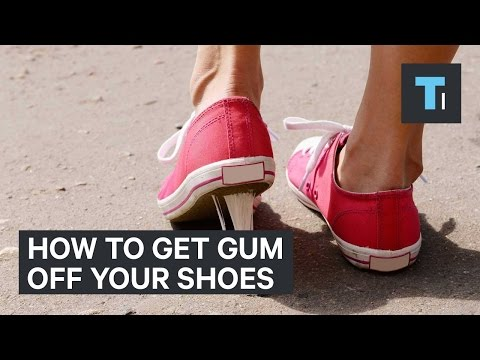 how-to-get-gum-off-your-shoes