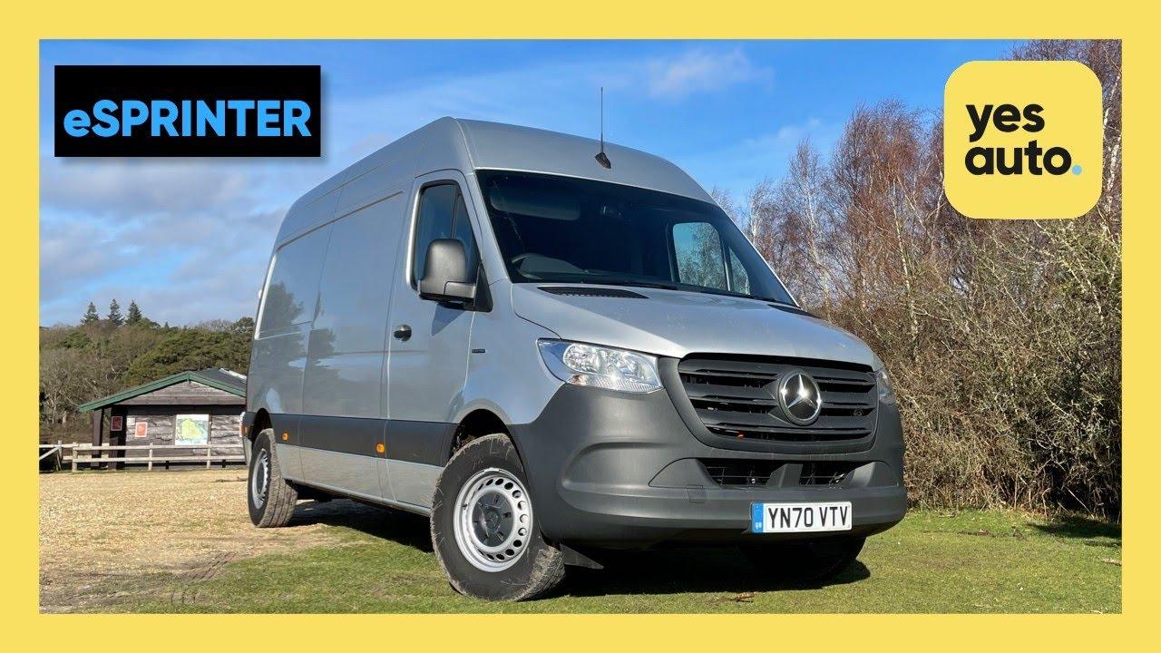 Mercedes-Benz eSprinter Review: Are Electric Vans the future?