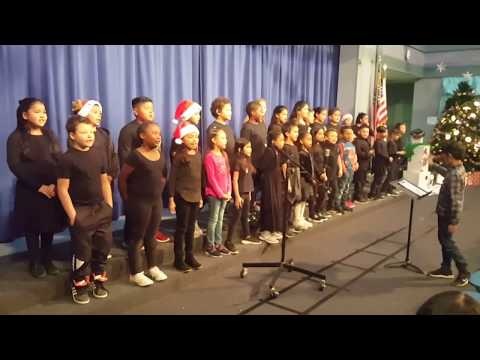 think TOGETHER Program - Lake Elsinore Railroad Canyon Elementary School 2019 Christmas Concert.
