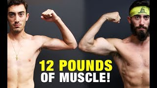 Muscle Building Body Transf๐rmation (GAINED 12 LBS!)