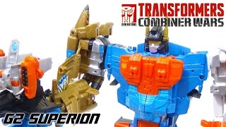 Transformers Combiner Wars G2 Superion