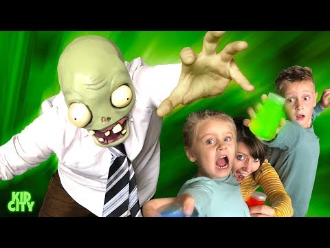 There's A ZOMBIE In Our HOUSE! Hide And Seek Game For Kids   KIDCITY