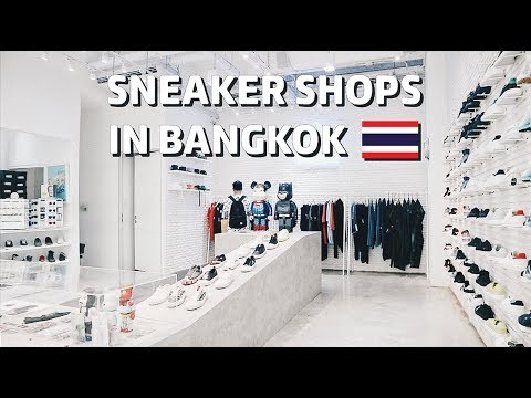 Sneaker Shops in Bangkok Bahasa Indonesia