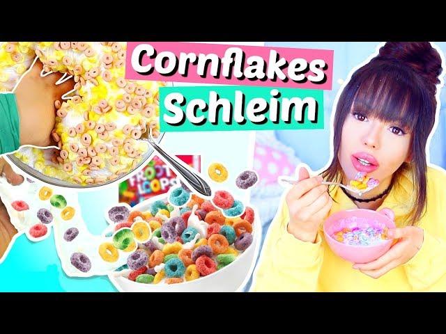 Cornflakes Schleim DIY 😳 verrückt & einfach | ViktoriaSarina