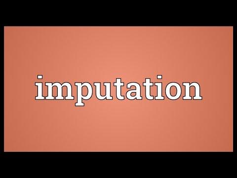 Header of imputation
