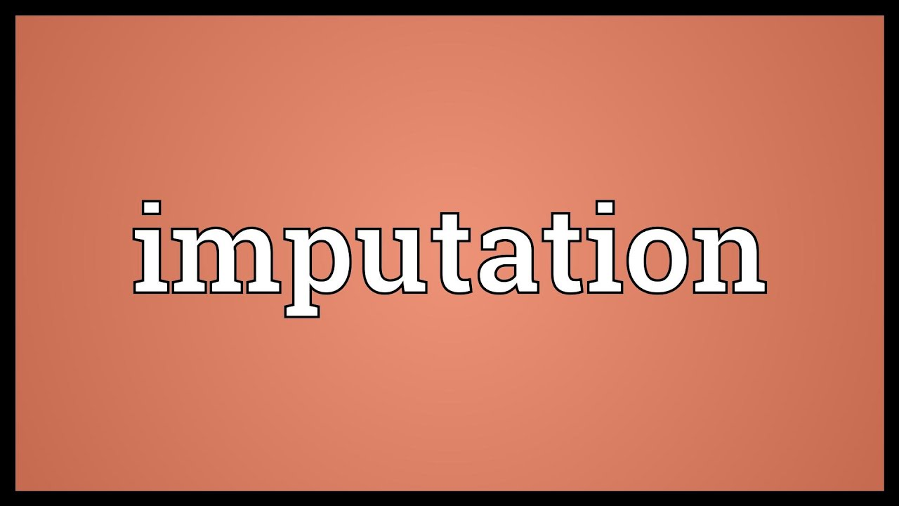 Image result for imputation