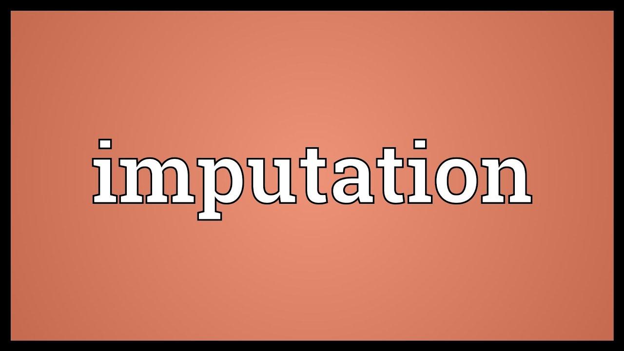 Image result for imputation