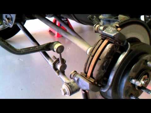 Installing Subaru 2 Pot Rear Calipers On A Subaru Forester XT
