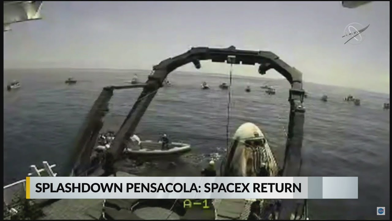 VIDEO: Splashdown Pensacola, boaters flock to splashdown site - WKRG