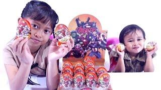 Jessica Jenica Buka 16 Chococup SURPRISE EGG AVENGERS Series 💖 Mainan Anak