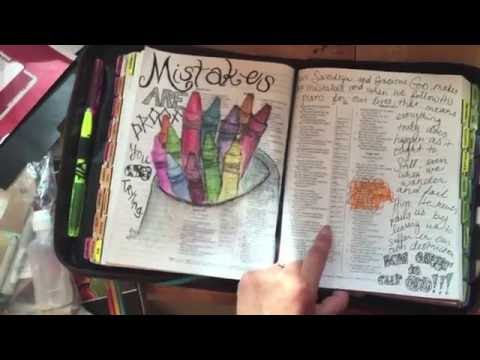 Ideas, Ways to do Bible Journaling, Illustrated Faith // DIY and Tutorial