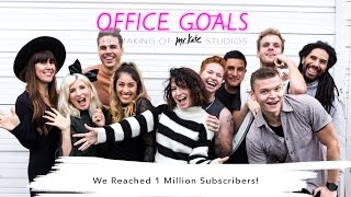 We Reached 1 Million Subscribers!! Watch Us Scream! | Office Goals | Mr Kate | Episode 14