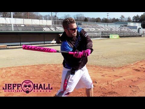 Jeff Hall Softball: Hitting Tips - Stance, Hip Rotation, and Torque