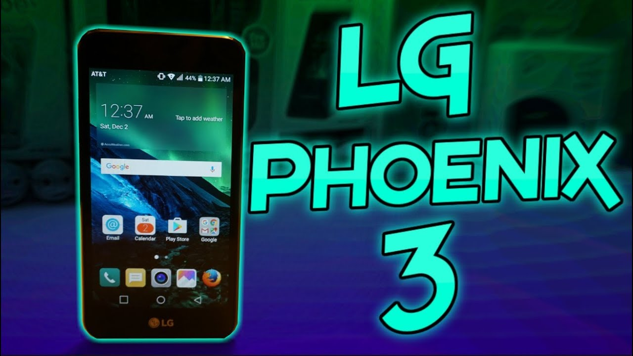 LG Phoenix 3 Unboxing & First Impressions