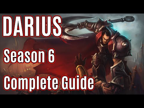 League Of Legends Top Darius Guide | Season 6 | Patch 6.1