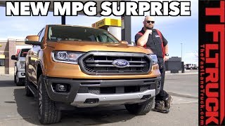 EPA Says the New Ford Ranger Gets 24 MPG on the Highway, But What Does It Really Get at 70 MPH?