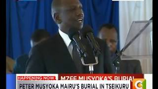 Ruto: Bible in local languages will help resolve the myth of crocodiles in R. Jordan