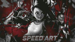 Speed Art / Banner / Logo @iKatze
