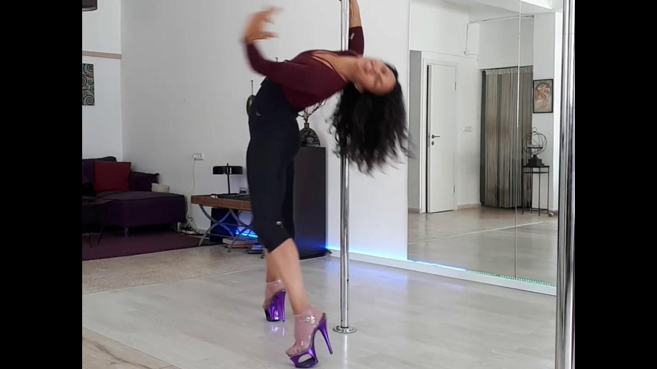 Exotic Pole Dance, PoleFit Studio Tel-Aviv, Sophie Atlan