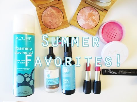 Summer 2015 Favorites - Vegan, Natural, Cruelty Free Products!