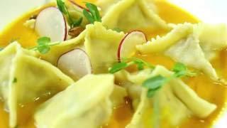 Рецепт как правильно приготовить равиоли и пасту с кроликом от шеф-повара Евгения Чернухи